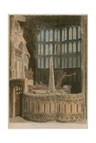 Memorial to George Villiers, Duke of Buckingham, Westminster Abbey, London Giclee Print by Frederick Mackenzie