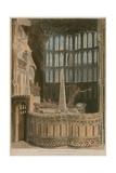 Memorial to George Villiers, Duke of Buckingham, Westminster Abbey, London Giclee Print by Frederick Mackenzie