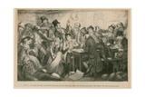 From the Drunkard's Children, 1848 Giclee Print by George Cruikshank