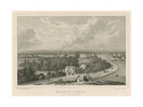 Regent's Park, London, from Primrose Hill Giclee Print by William Westall