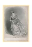 Giuditta Pasta, Italian Opera Singer Giclee Print by Alfred-edward Chalon