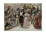 The Early Days of Our Century - Piccadilly, London, in 1800; Colour Plate Giclee Print by Gordon Frederick Browne