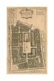 Map of the Parish of St Paul's, Covent Garden, London Giclee Print