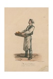 Marchand De Gateaux Giclee Print by Carle Vernet