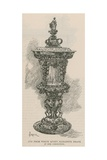 The City Guilds: the Goldsmiths' Company: Cup from Which Queen Elizabeth Drank Giclee Print by Amedee Forestier