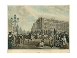 Elephant and Castle, Newington, London, 1826 Giclee Print by Samuel John Egbert Jones