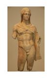 Greek Art. . Heracles Statue. IV Century B.C. Giclee Print