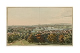 View of London from Greenwich Park Giclee Print by Joseph Farington