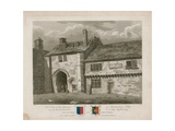 Gateway of Bermondsey Abbey Giclee Print by Frederick Nash