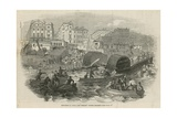 The Cricket Steamboat Explosion Giclee Print
