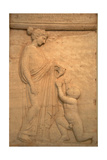 Greek Art. . Funerary Stele. V Century B.C. Giclee Print