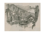 Venice in London: Sketches at Olympia - One of the Terraces Giclee Print