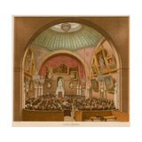 Council Chamber, Guildhall, London Giclee Print by John Phillipp Emslie