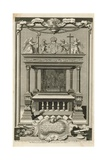 The Monument of King Edward VI Giclee Print by George Vertue