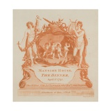 Invitation to a Dinner at the Mansion House, London, on 1 April 1793 Giclee Print