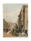 Temple Bar from the Strand, London Giclee Print by Thomas Shotter Boys