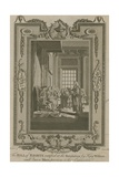 The Bill of Rights Ratified at the Revolution by King William and Queen Mary Giclee Print by Samuel Wale