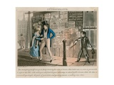 Intemperance; Cartoon Published 1828 Giclee Print by Daniel Thomas Egerton