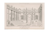 Bank of England, Lothbury Court Giclee Print by Augustus Charles Pugin