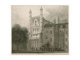 North East View of the House of Commons from a Drawing by Thomas Sandby Ra Giclee Print by Thomas Sandby