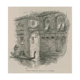 Venice in London: Sketches at Olympia - a Trip Through Venice on a Gondola Giclee Print