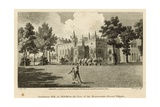 Strawberry Hill, Twickenham, London, the Seat of the Honourable Horace Walpole Giclee Print by Edward Dayes