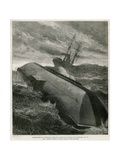 Abandonment of Cleopatra's Needle in the Bay of Biscay Giclee Print by William Heysham Overend