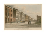 North Side of Cavendish Square, London Giclee Print