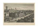 St Thomas Hospital, London Giclee Print