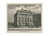 The House of Mr Scotmother, Cavendish Square, London Giclee Print