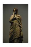Greek Art. The Lady of Kalymnos. Bronze Statue Giclee Print