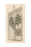 Shop Front Design in the Decorated or Florid Gothic Style Giclee Print by Nathaniel Whittock