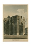 Henry Seventh Chapel, Westminster Abbey, London, Showing Two Renovation Prinacles Giclee Print by Augustus Charles Pugin