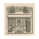 Shop Front Design in the Italian Style Giclee Print by Nathaniel Whittock