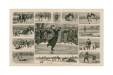The Skating Season - Notes on the Ice Reproduction procédé giclée