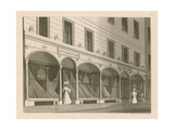Shop Front for Messrs Everington, India Shawl Warehouse, 10 Ludgate Street, London Giclee Print by Nathaniel Whittock