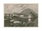 Works of the Midland Railway Terminus on Euston Road Giclee Print