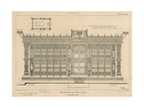 South Elevation of the Screen Surrounding the Tomb of King Henry Vii Giclee Print
