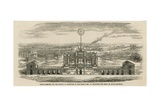 Temple Erected to Celebrate the Peace of Aix-La-Chapelle Giclee Print