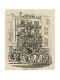 Poulterer's Shop on Holborn Hill Giclee Print