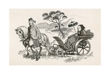 Queen Victoria and John Brown Giclee Print by Peter Jackson