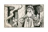 Druids Giclee Print by Peter Jackson