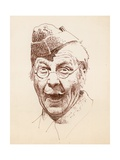 The Actor Clive Dunn as Lance Corporal Jack Jones in the BBC Television Sitcom Dad's Army Giclee Print by Peter Jackson