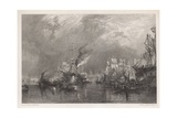 The Port of London Giclee Print by Samuel Bough