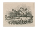 Kennington Common, London, About 1840 Giclee Print by Robert Randoll