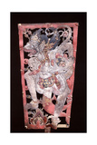 Wayang Shadow Puppet of Hanuman, Monkey Hero of the Ancient Hindu Epic, the Ramayana Giclee Print