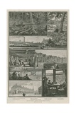 Growing London; Sketches in the Western Suburbs Giclee Print by William Bazett Murray