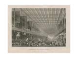 Interior of the Great Exhibition, 1851 Giclee Print by Thomas Hosmer Shepherd
