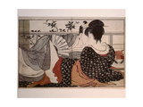 "Print or Ukiyo-E, Which Means Literally ""Portrait of the Floating World"" Giclee Print"