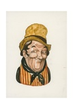 Sam Weller, the Pickwick Papers Giclee Print by Peter Jackson